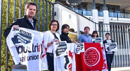 International union support for independent unions in Belarus