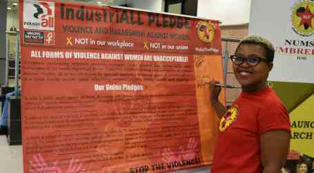 REPORT: Why unions must take the lead to end violence against women