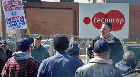 Machinists strike continues in West Virginia, USA