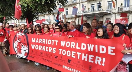 Marriott workers from around the world demand action to combat sexual harassment