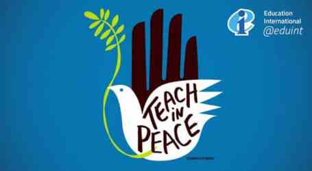 The right to live and learn in peace must not dim