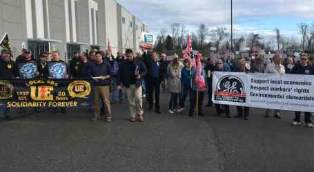 Workers unite to take action against General Electric