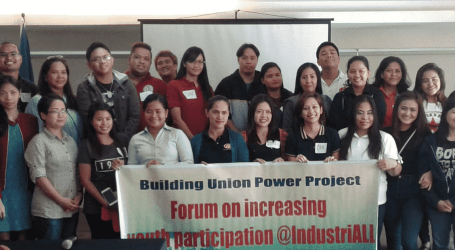 Increasing young workers' participation in Philippine unions