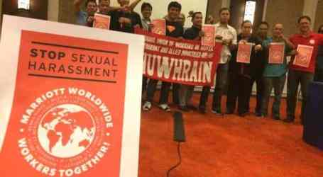 Marriott workers around the world demand global measures to combat sexual harassment