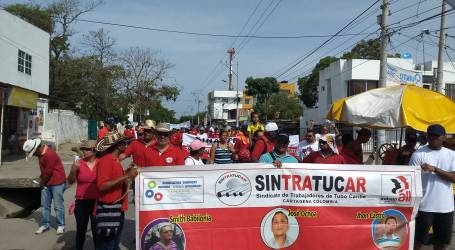 Union persecution continues at Tenaris Colombia