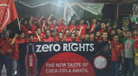 Workers affirm their confidence in dismissed independent union leader at Coca-Cola Indonesia and re-elect Atra Narwanto as Chairman