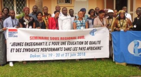 EI promotes the ideas of youth to strengthen unions in Senegal and Ivory Coast