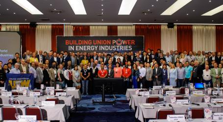 Energy unions demand Just Transition at world conference