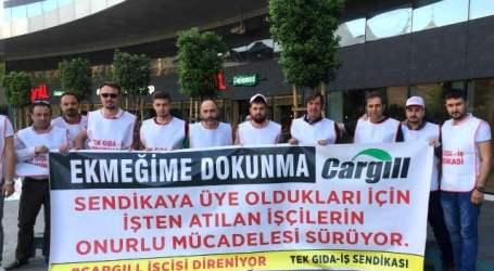 Stop the attack on rights at Cargill Turkey – Reinstate #TheCargill14 now!