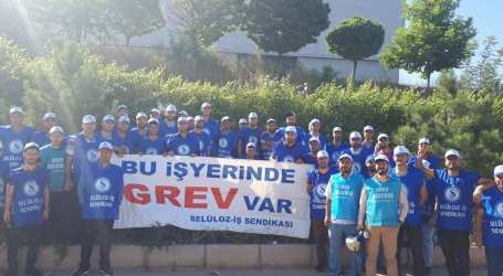 Turkey: Workers at Mayr-Melnhof on strike demanding dignified conditions