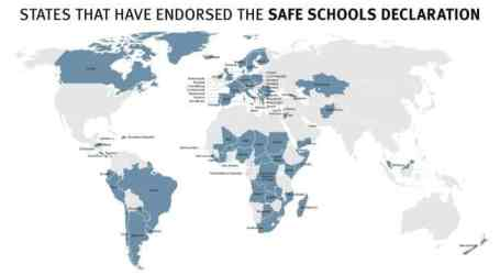 Four new states endorse the Safe Schools Declaration