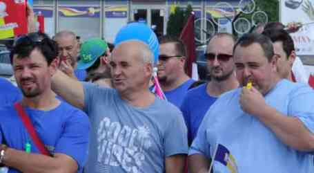 Hundreds of Tenaris workers protest in Romania