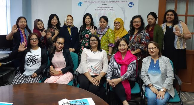 Asian women union leaders join forces to combat bullying and sexual harassment in schools