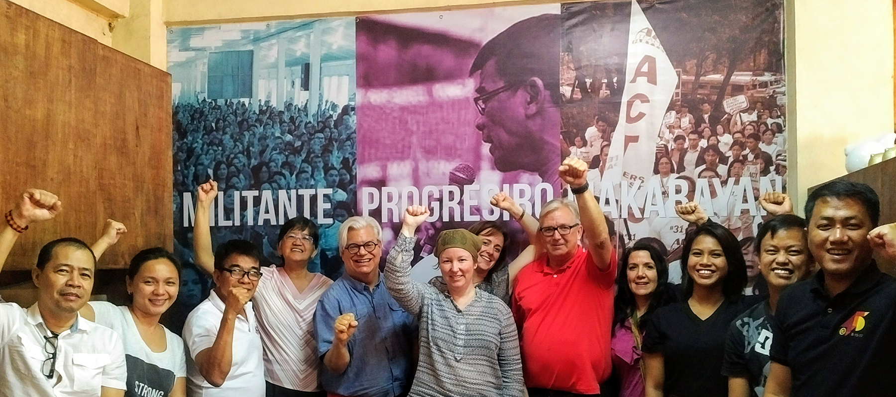 CUPE visit highlights struggle to defend human rights and public services in Philippines