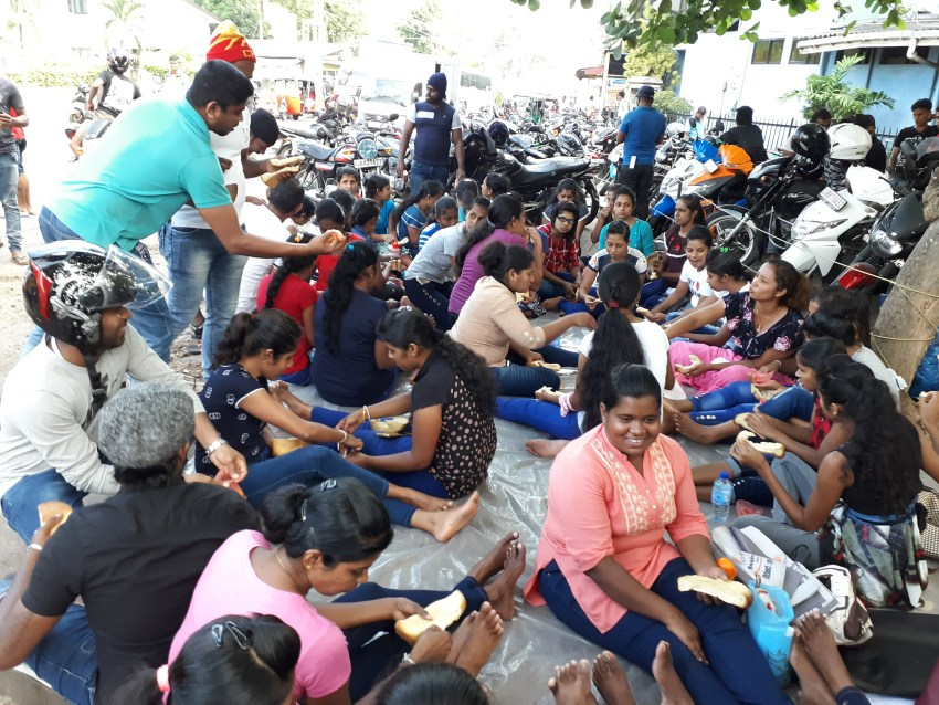 Rubber glove workers in Sri Lanka protest unjust terminations