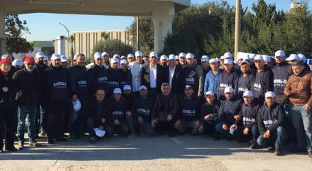 Workers at Turkish Saint-Gobain subsidiary strike for a fair contract