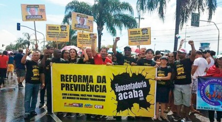 Trade unions in Brazil campaign against pension reforms