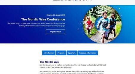 Early childhood education, seen as crucial in the Nordic Way and worldwide