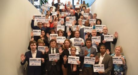 Stop governmental harassment of education trade unionists