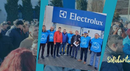 Strike for fair pay at Electrolux continues