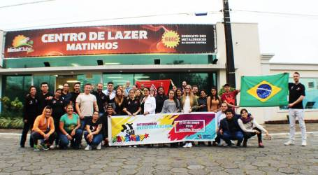 Young unionists hold second international exchange in Brazil