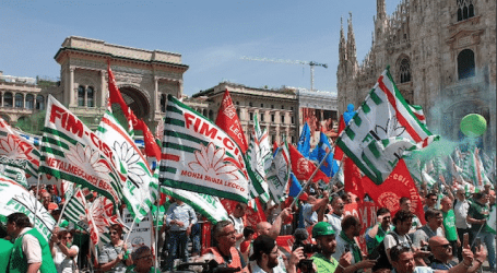 Solidarity with striking metal workers in Italy
