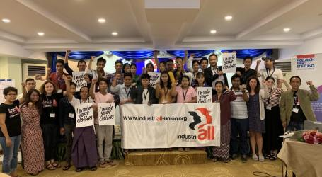 Myanmar unions call on brands to join ACT in fight for living wage