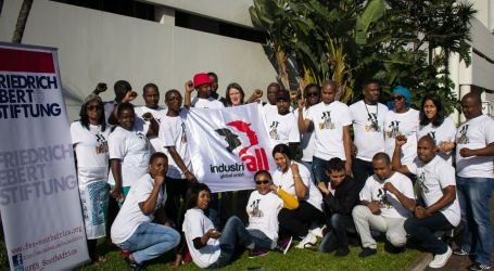 Young workers discuss strategies for the future of unions in Africa