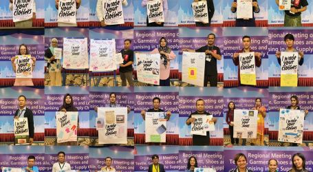 Textile and garment unions in South East Asia build networks