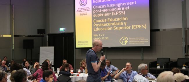 The highs and lows of higher education analysed at EI Congress