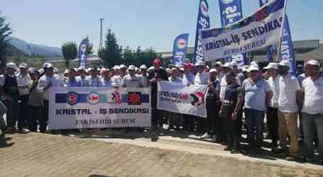 Turkish glassworkers on strike over long-standing union busting