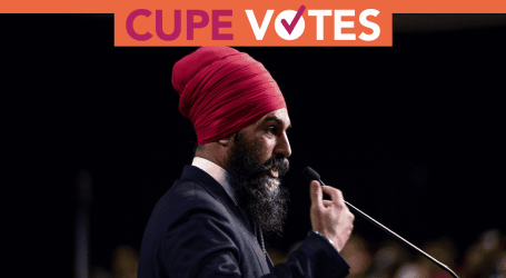 CUPE applauds NDP plan to confront racism