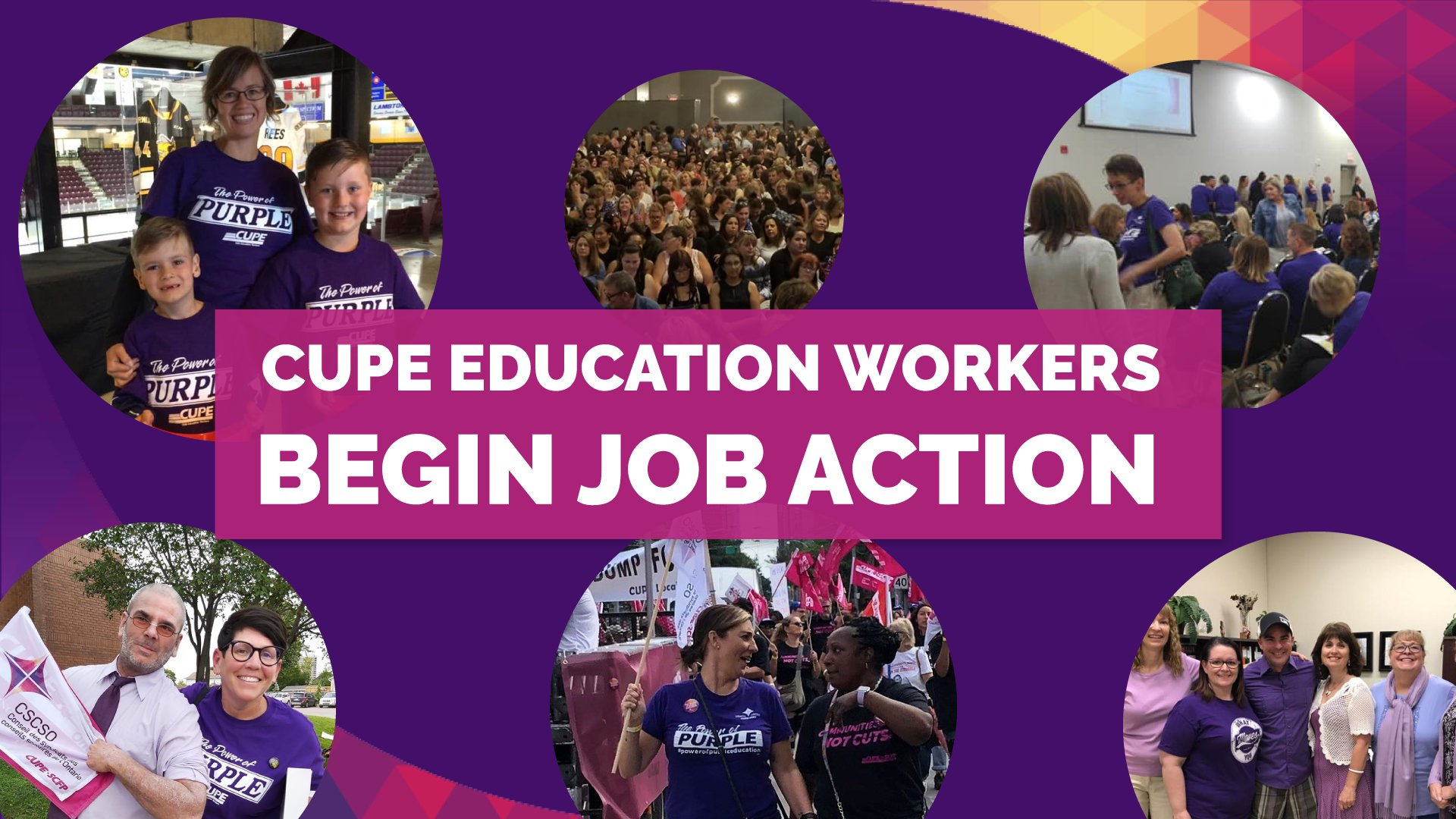 CUPE Ontario OSBCU Job Action Statement
