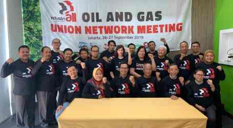 Oil and gas unions in Indonesia unite to organize