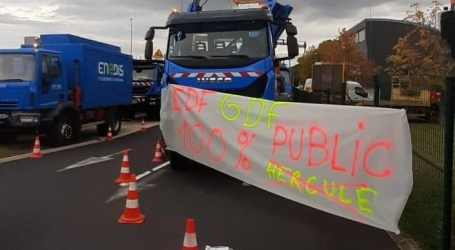 New mobilizations by French unions against EDF privatization