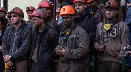 Ukrainian miners demand payment of wage arrears