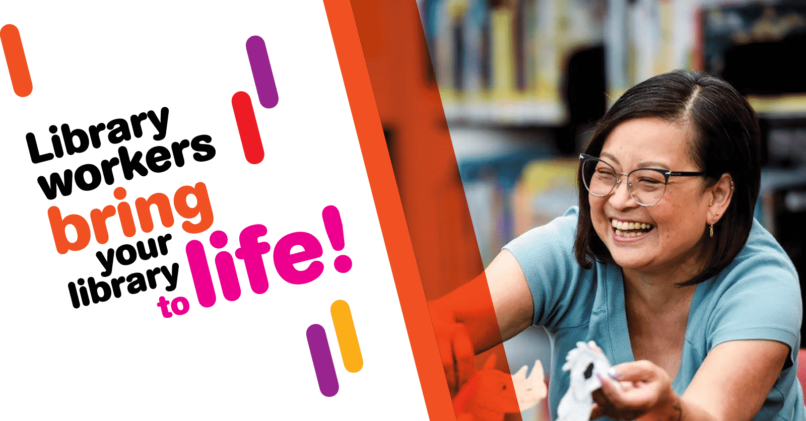 CUPE celebrates library month | Canadian Union of Public Employees