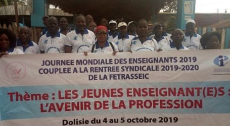 Congo: education workers reaffirm their desire to make their union strong and sustainable : Education International