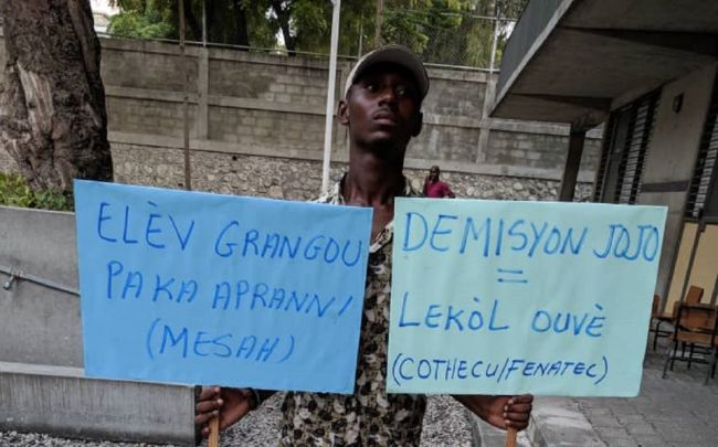 Haiti: reopening schools despite the dire situation is essential : Education International