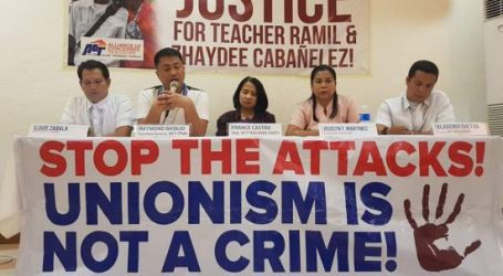 International outrage at attempted extrajudicial killing of education union members