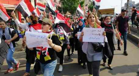 "Iraqi unions: ""We want bread, not bullets"""