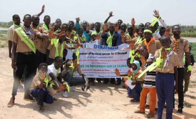 Niger: education unions stand together against climate change : Education International