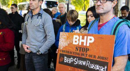 Solidarity in the face of BHP's race to the bottom