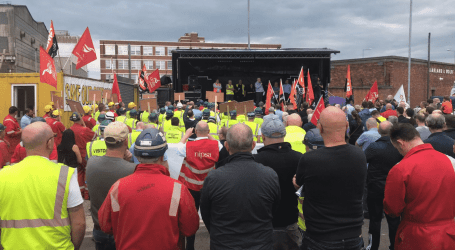 Victory for workers as shipyard is saved