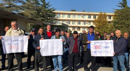 Georgian thermal power plant workers gain wage increase after strike