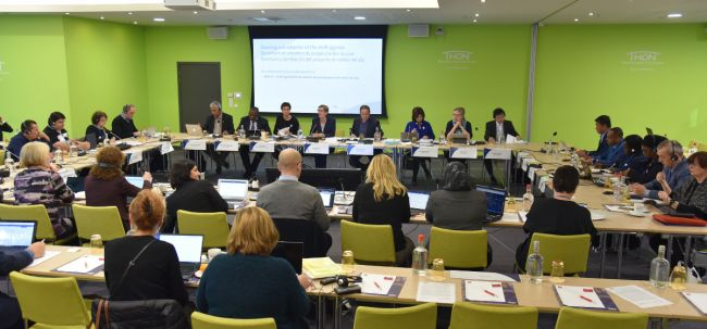 55th EI Executive Board meeting takes strong positions on education and democracy issues