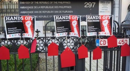 hands off human and trade union rights defenders!