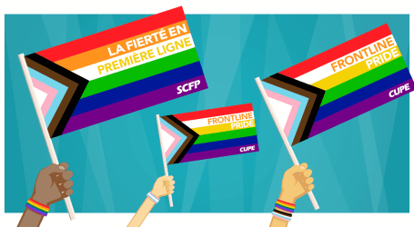 CUPE celebrates Frontline Pride | Canadian Union of Public Employees