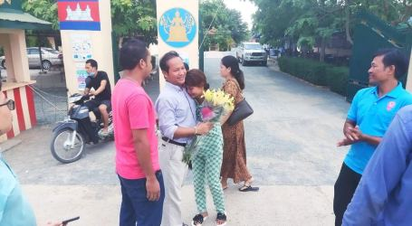 Cambodian unionist released from jail