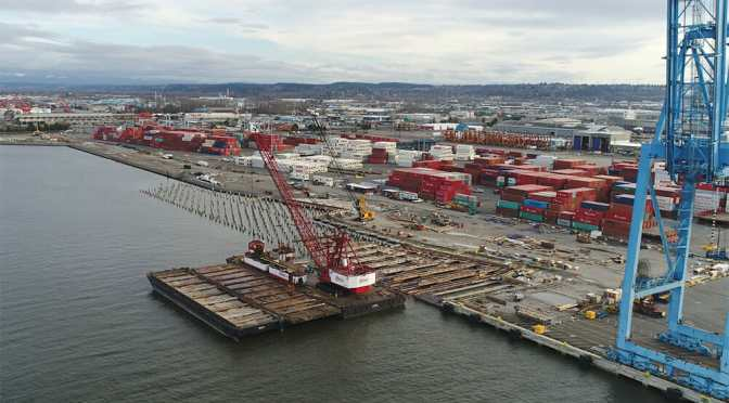 Port of Tacoma, WA Pier 4 Reconfiguration Update